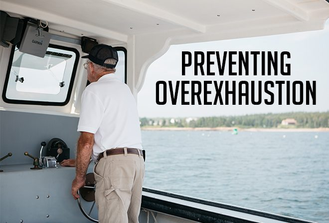 Preventing Overexhaustion Banner
